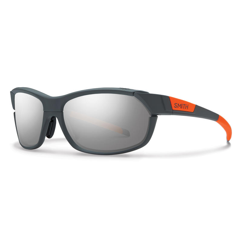 Pivlock Overdrive Sunglasses Charcoal Neon Orange/Super Platinum