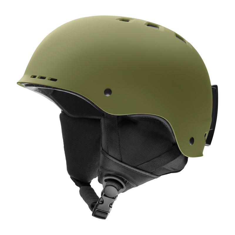 Holt Snow Helmet Matte Olive
