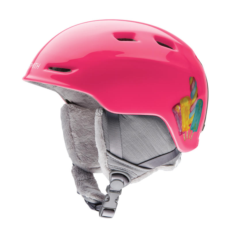 Casque de ski Zoom Rose popsicle