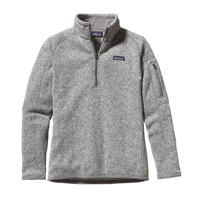 Chandail Better Sweater à glissière courte Bouleau blanc