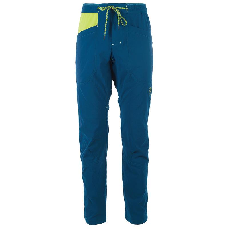 Pantalon Talus Océan/Citronnelle
