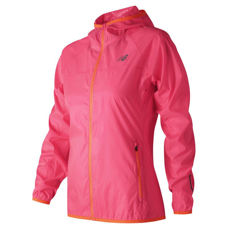 Manteau Windcheater Rose alpha