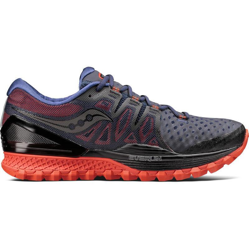 Chaussures de course sur sentier Xodus ISO 2 Noir/Orange