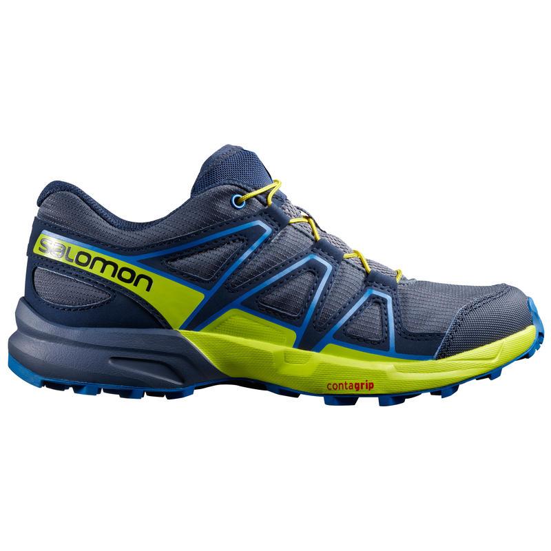 Chaussures Speedcross Bleu ombre/Printemps soufre