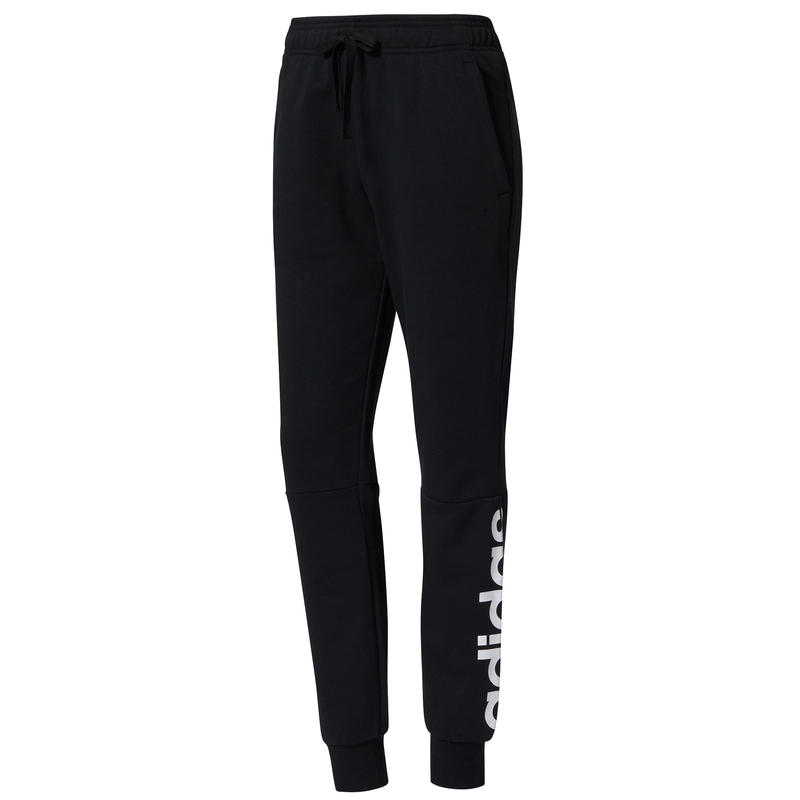 Pantalon Essentials Linear Noir/Blanc