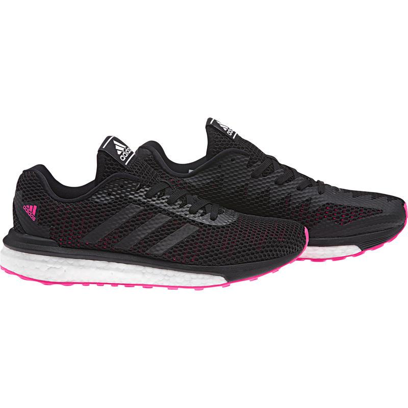 Chaussures de course sur route Vengeful Noir noyau/Rose choc