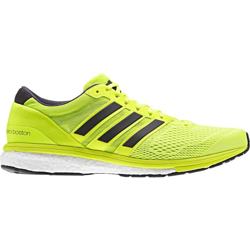 Adizero Boston Boost 6 Road Running Shoes Solar Yellow/Utility Black