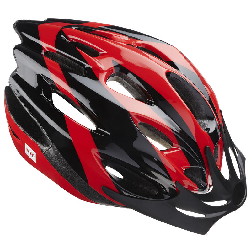 Mid Town Cycling Helmet Red/Black
