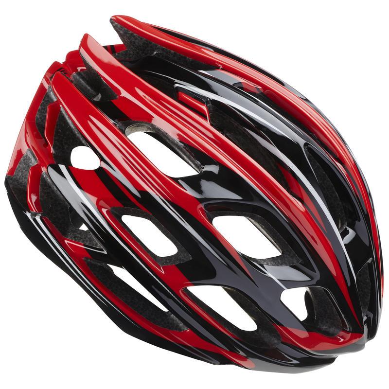 Casque de vélo Etape Noir/Rouge