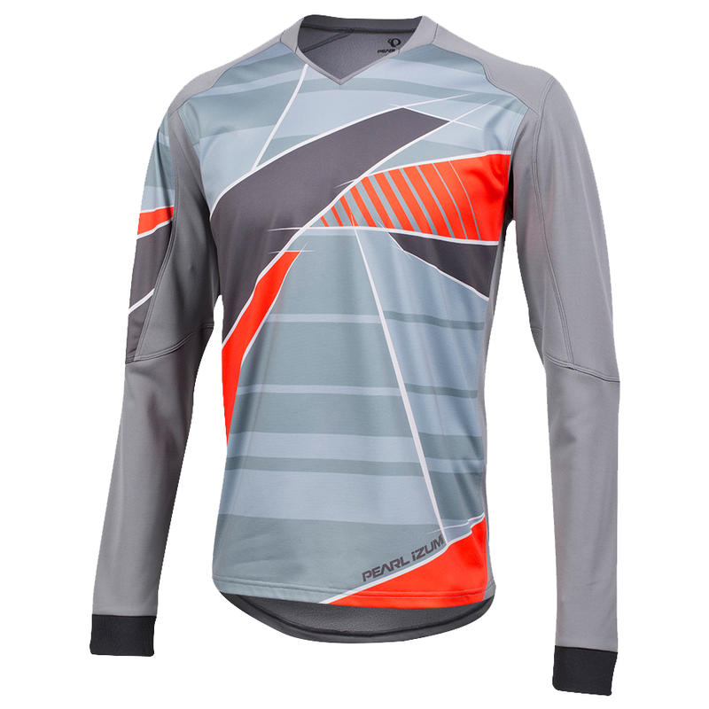 Maillot Launch Thermal Perle fumé/Monument