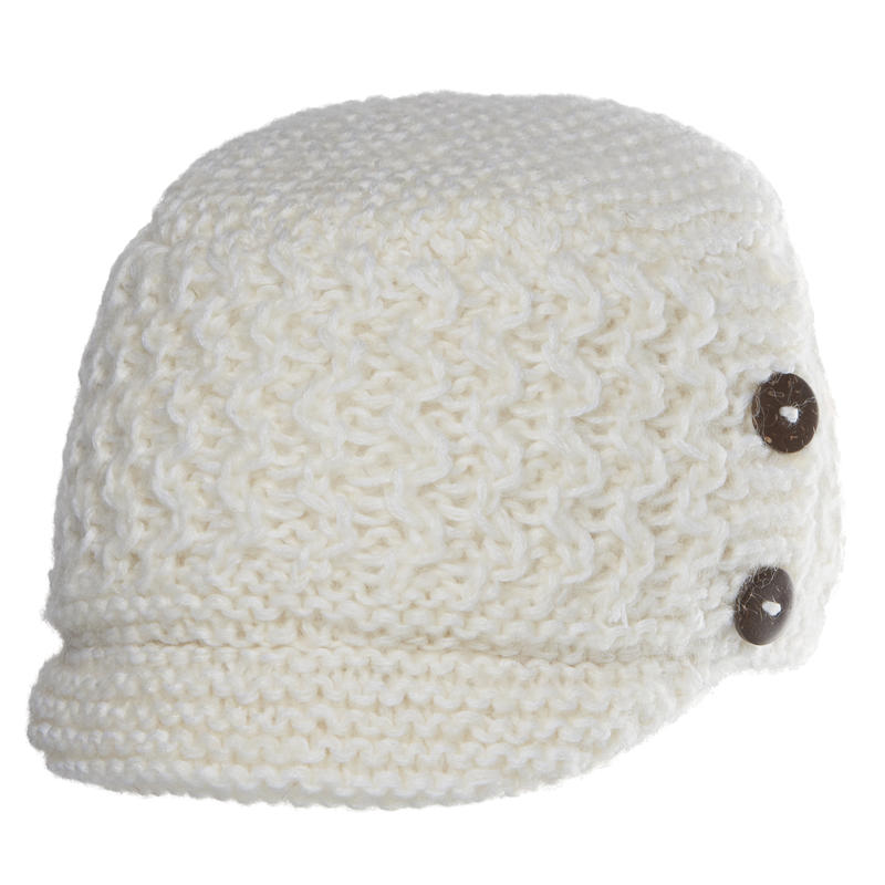 Tuque Ripple Blanc hiver