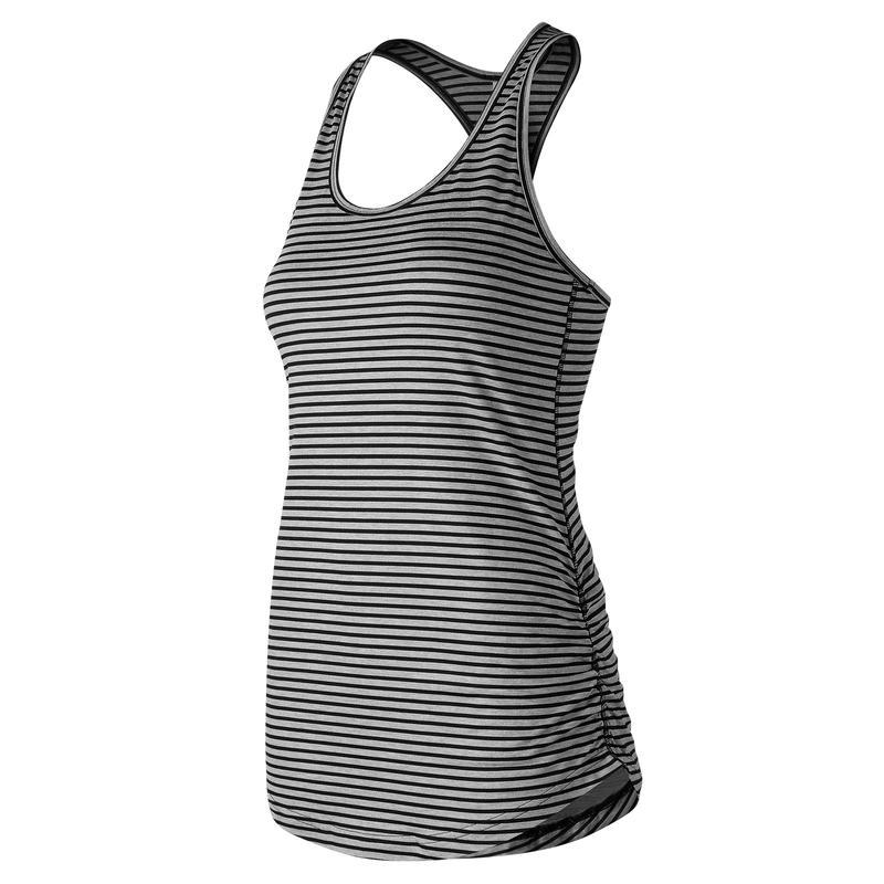 Camisole Perfect à imprimé Noir chiné/Noir