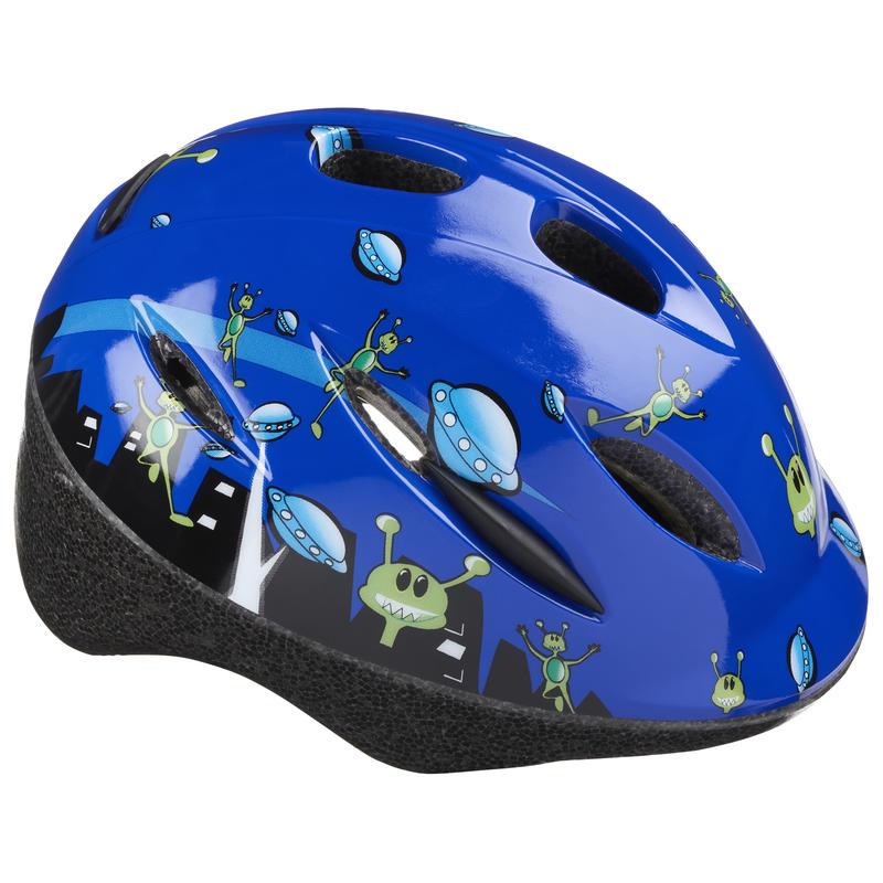 Whirlwind Cycling Helmet Blue Alien