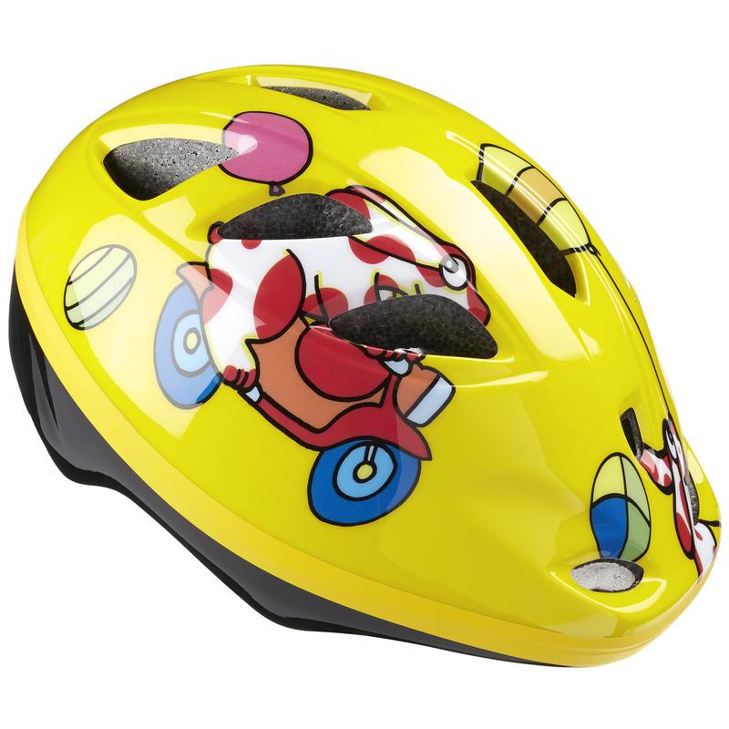 Casque de vélo Ace Jaune side-car