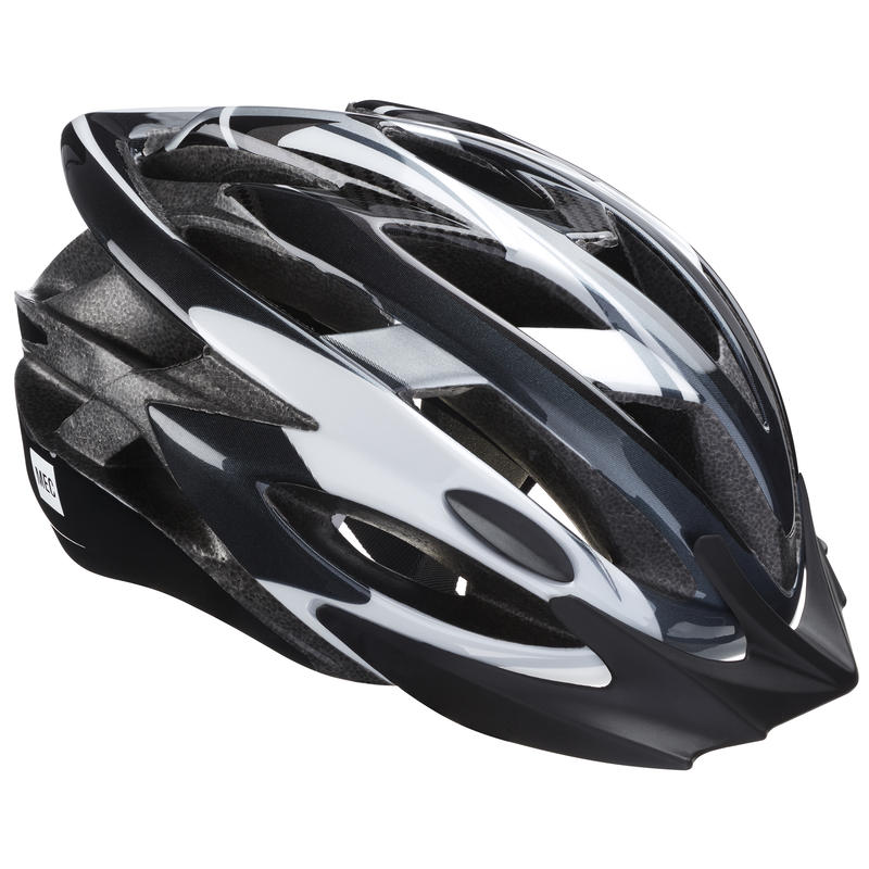 Casque de vélo Adanac Noir/Blanc