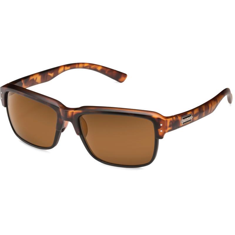 Port O Call Polarized Sunglasses Matte Tortoise/Polar Brown
