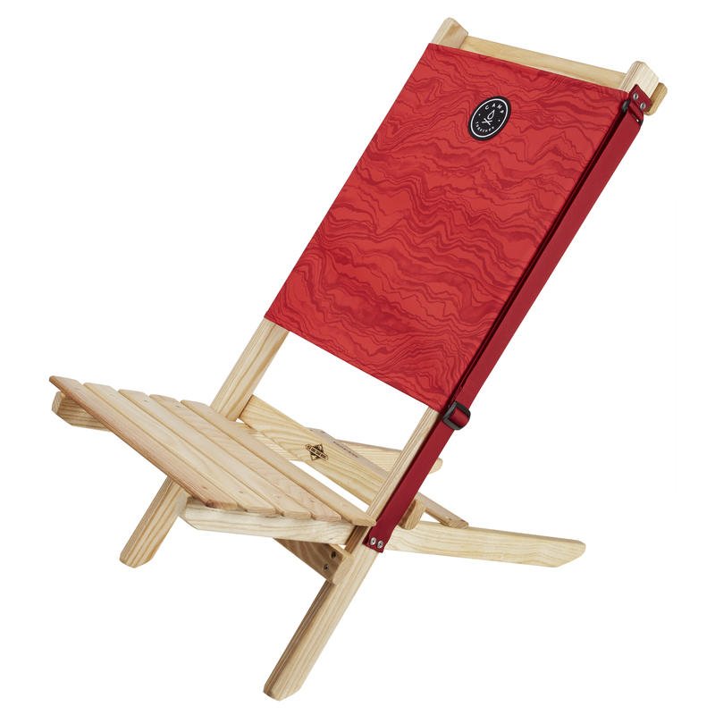 Camp Together Blue Ridge Wooden Chair Victory Red