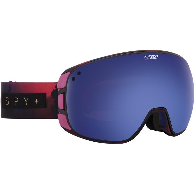 Lunettes de ski Bravo Rose aurore/Rose vif/Bleu foncé spect/Bleu pâle