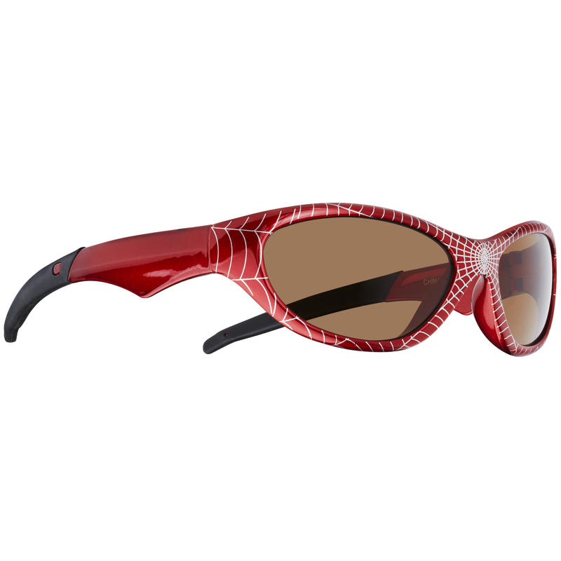 Spider Sunglasses Metallic Lightning Red/Brown