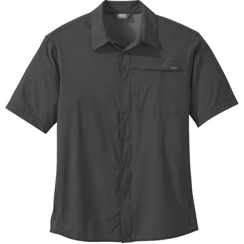 Astroman Short-Sleeved Shirt Charcoal
