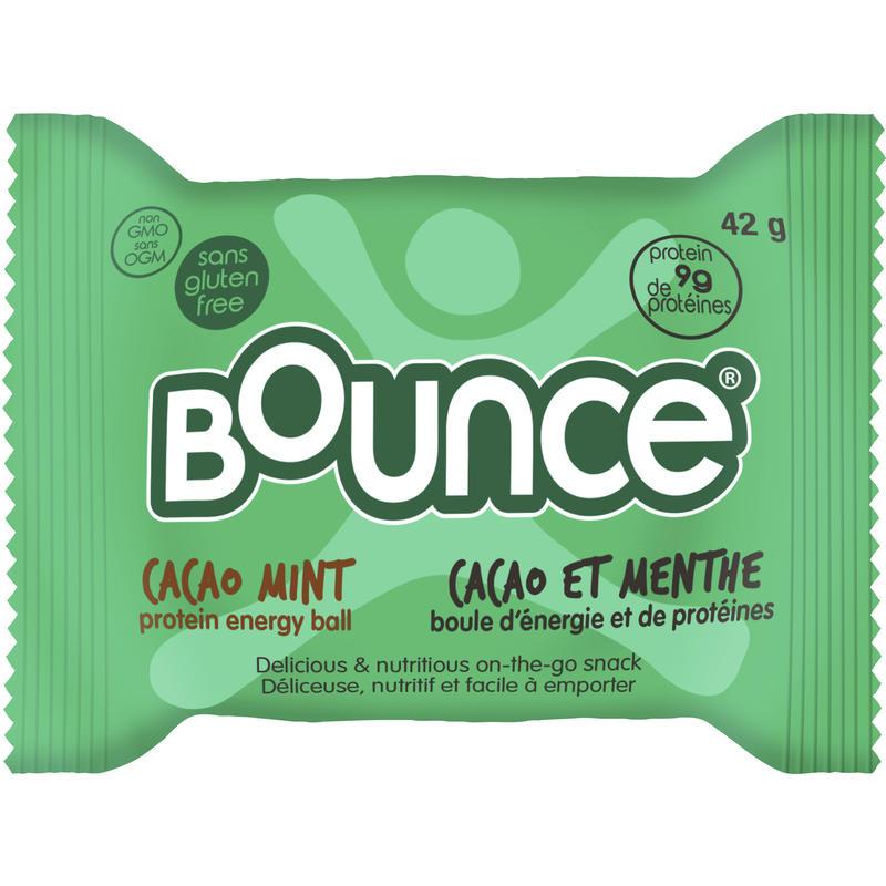 Boule Protein Bomb au cacao et à la menthe