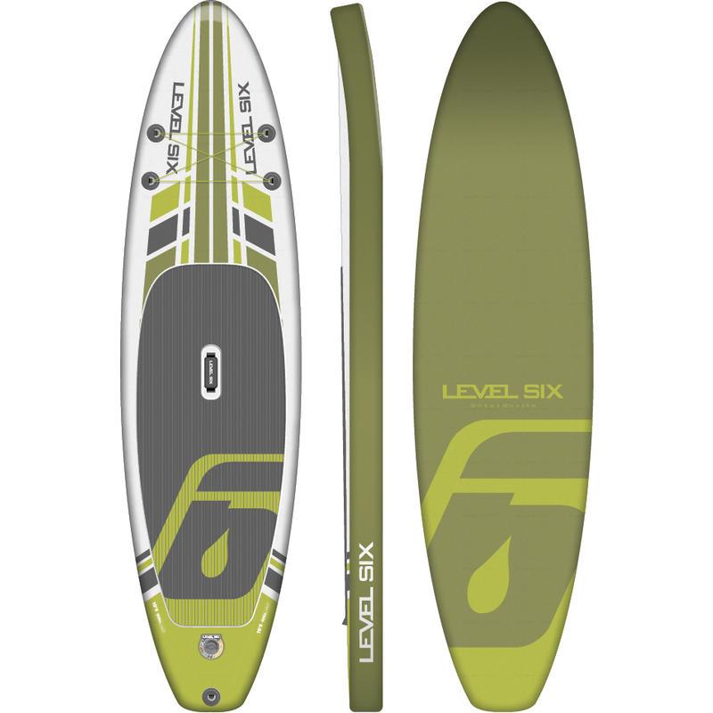 Surf à pagaie iSup Ten Six Ultralight Cédrat
