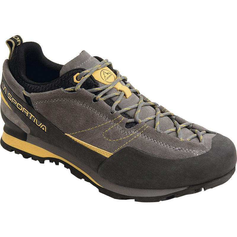Boulder X Approach Shoes Grey/Yellow