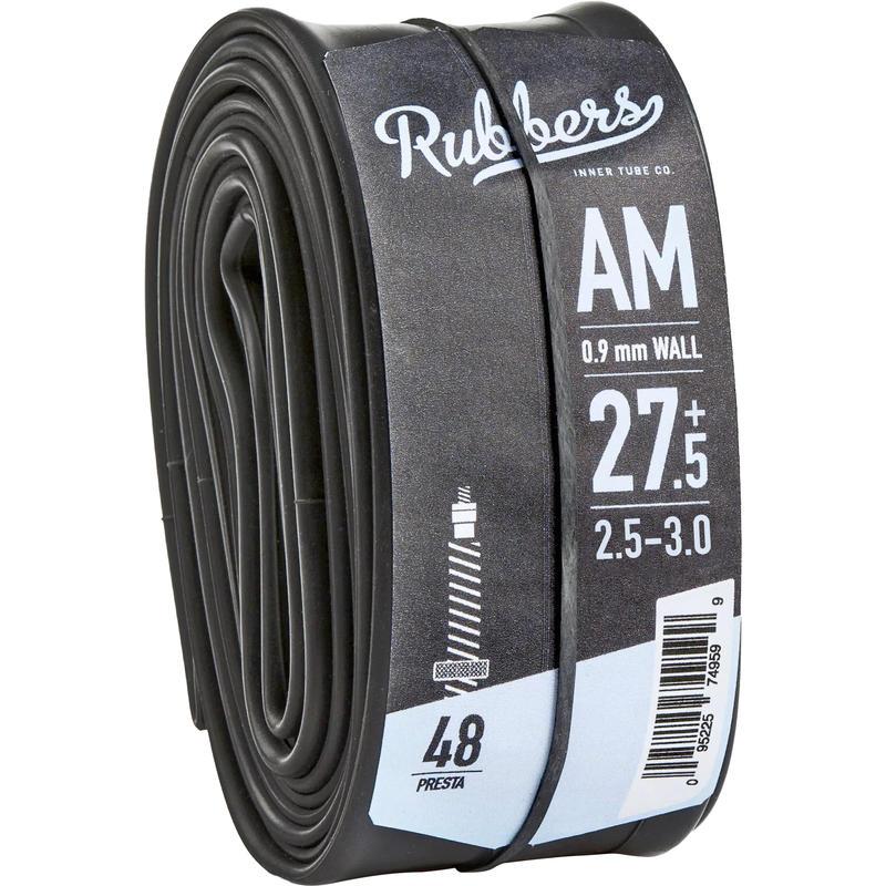 Chambre à air 27.5+ x 2,5-3,0 (valve Presta 48mm) Argent