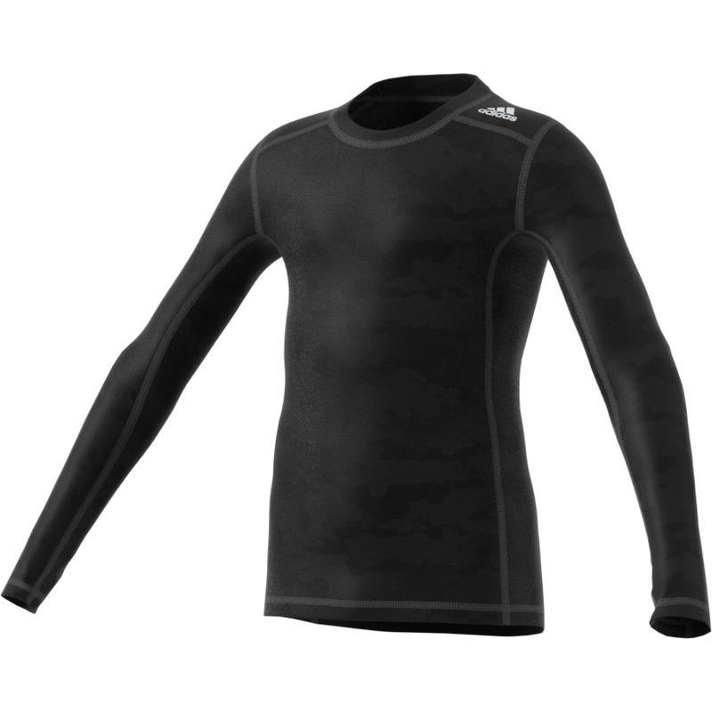 Tech Fit Warm Long Sleeve Black