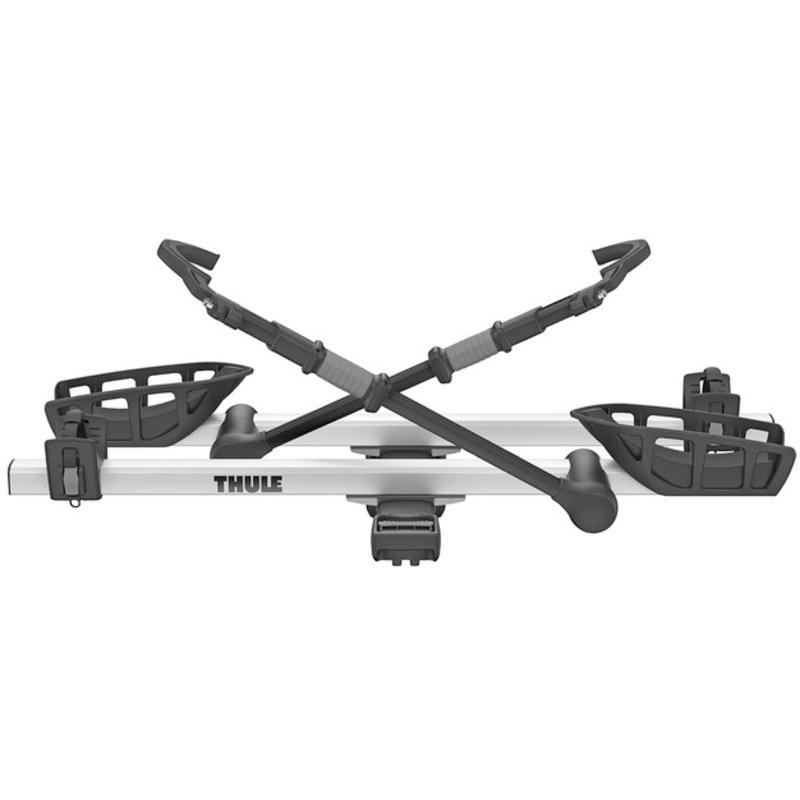 Porte-vélos pour 2 vélos T2 Pro XT - 1 1/4 po Noir/Argent