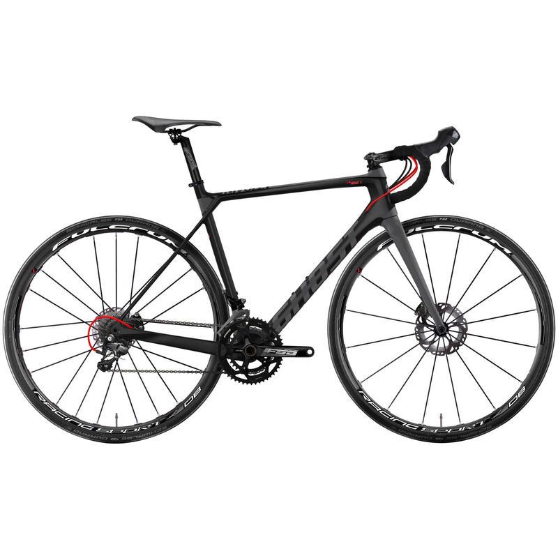 Vélo Nivolet LC X 5 Noir nuit/Rouge néon