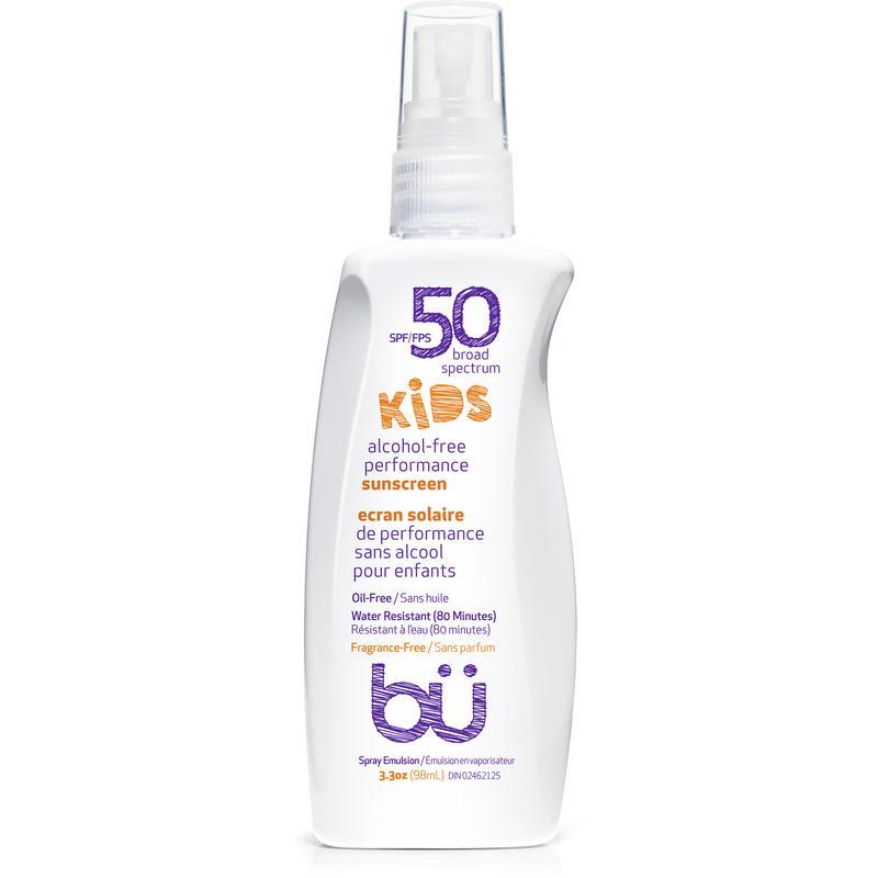 Écran solaire FPS 50 pour enfants (98 ml) Sans parfum