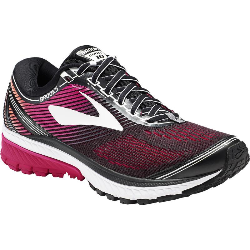 Chaussures de course sur route Ghost 10 Noir/Paon rose