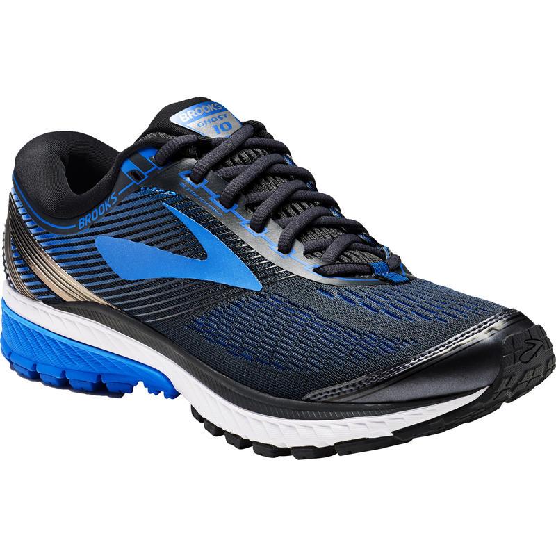 Chaussures de course sur route Ghost 10 Ébène/Bleu-brun électrique