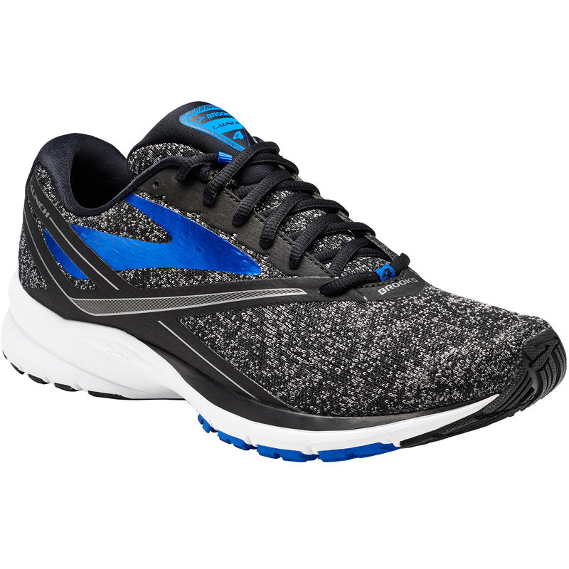 Launch 4 Road Running Shoes Black/Electric Brooks Blue