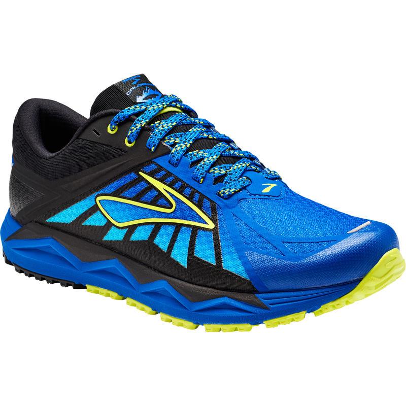 Chaussures de course sur sentier Caldera Bleu-brun électrique/Tassergal