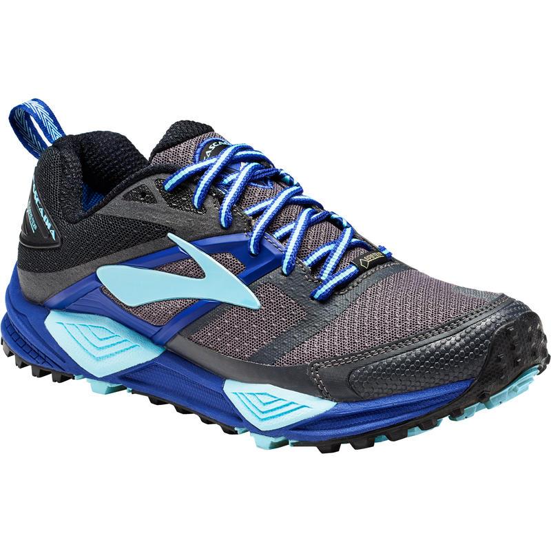 Chaussures de course sur sentier Cascadia 12 GTX Noir/Bleu clématite