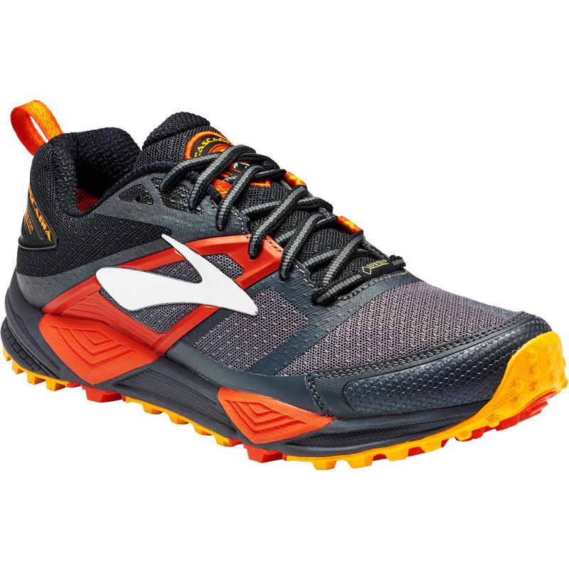 Chaussures de course sur sentier Cascadia 12 GTX Noir/Tomate cerise