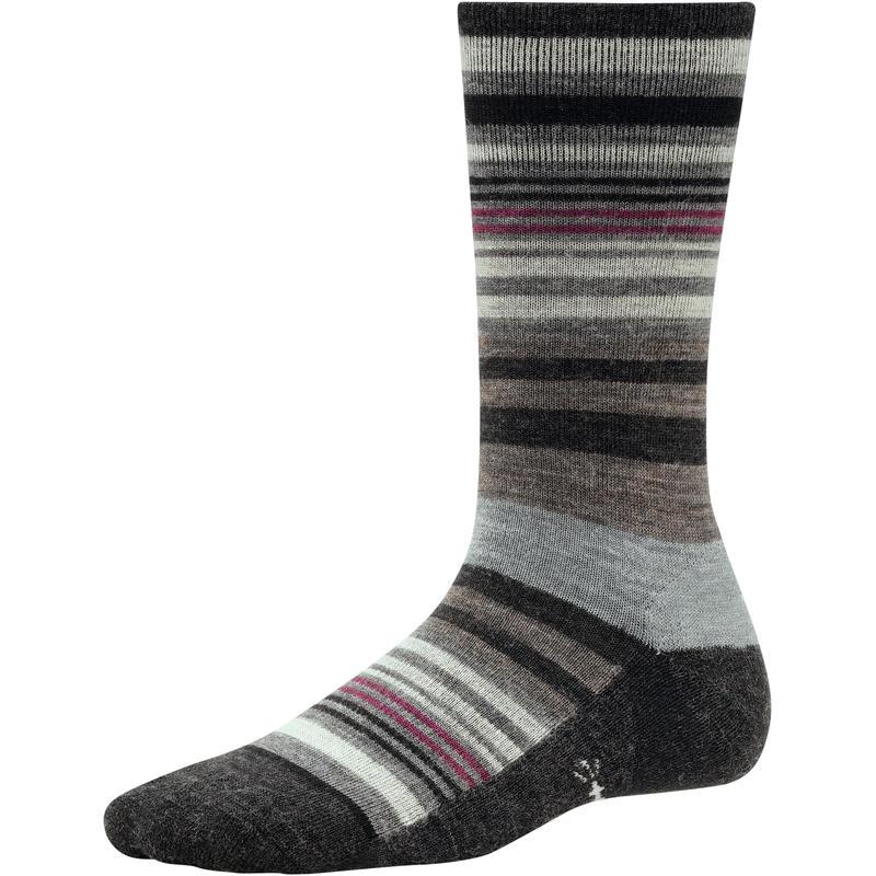 Jovian Stripe Socks Charcoal Heather
