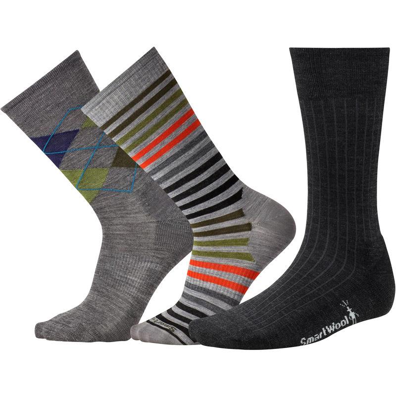 Trio de chaussettes Multicolore