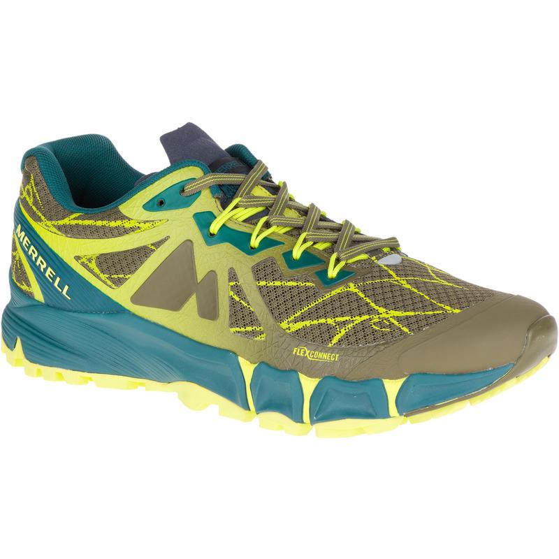Chaussures de course sur sentier Agility Peak Flex Olive foncé