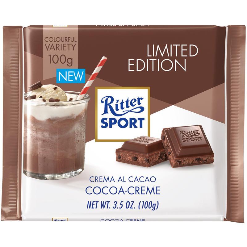 Tablette de chocolat à la crème de cacao