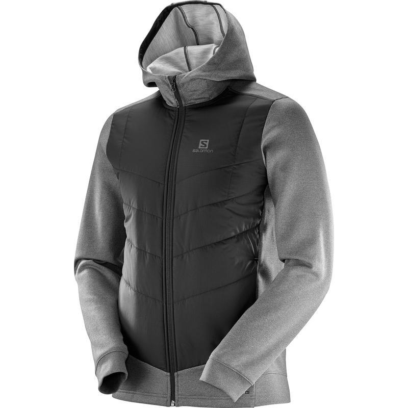 Manteau à capuchon Pulse Hybrid Noir