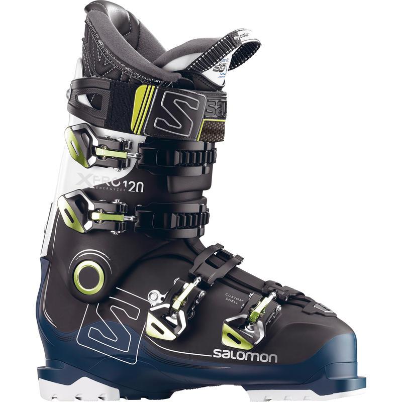 Bottes de ski X Pro 120 Noir/Bleu pétrole/Blanc