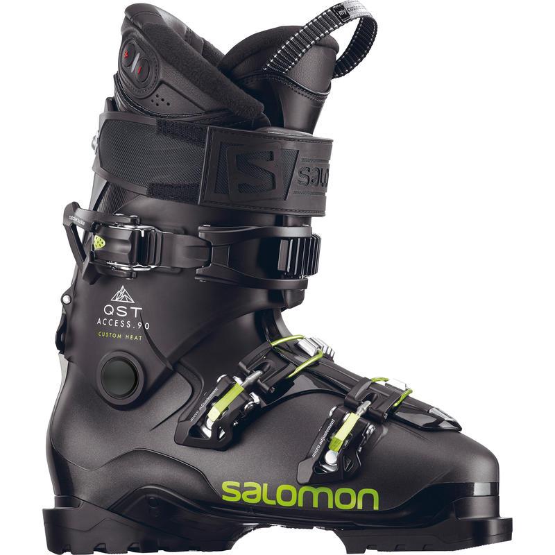 Bottes de ski chauffantes QST Access Custom Noir métallique