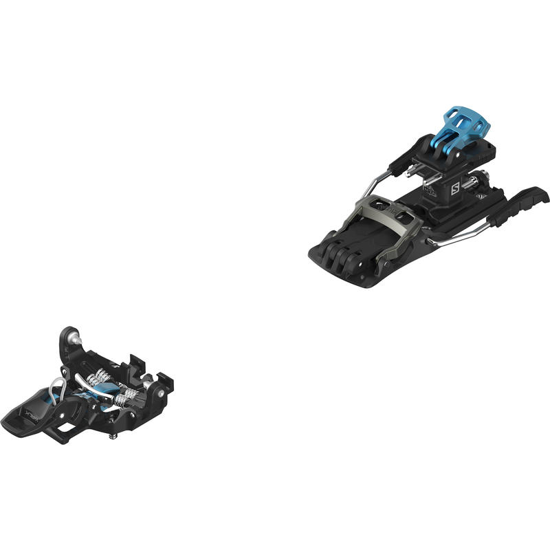 Fixations MTN avec frein Noir/Bleu