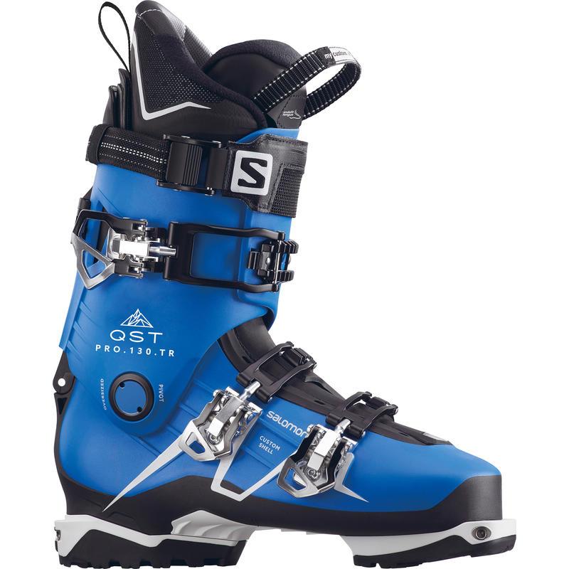 Bottes de ski QST Pro 130 TR Bleu indigo/Noir/Blanc