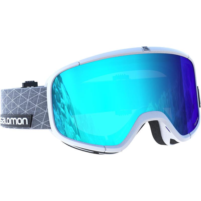 Lunettes de ski Four Seven Blanc/Bleu moyen