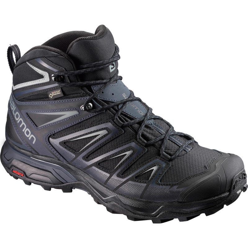 X Ultra Mid 3 GTX Light Trail Shoes Black/Monument