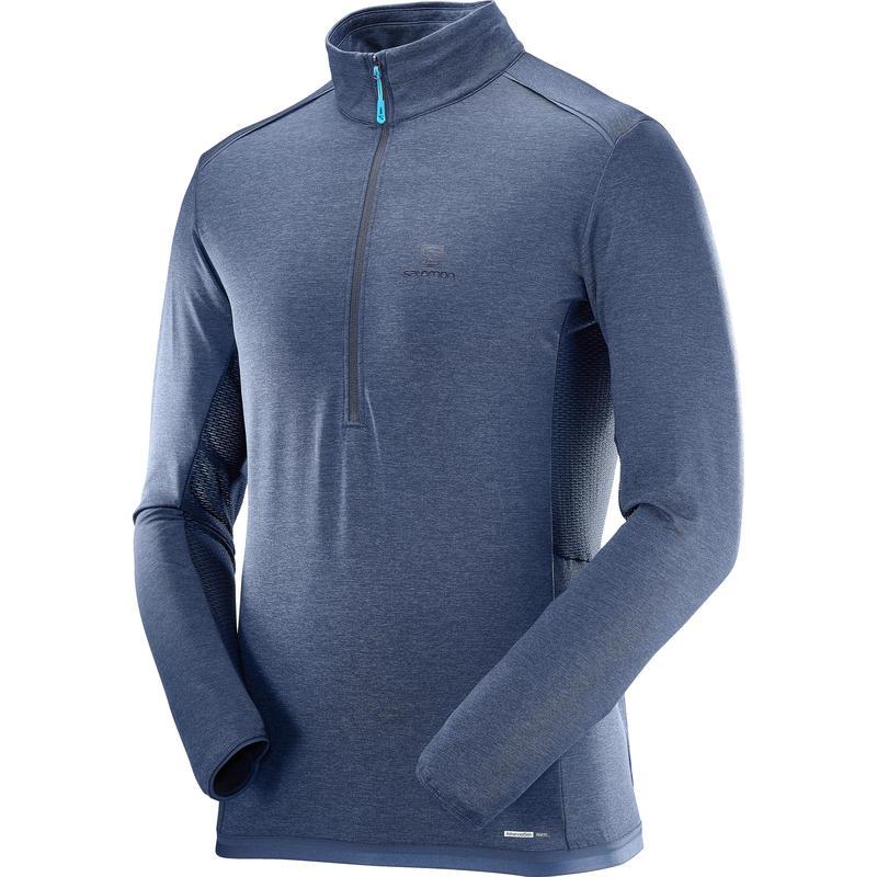 Chandail Discovery HZ Flowtech Robe bleue